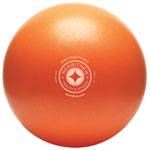 "STOTT PILATES Large 12"" Mini Stability Ball (ST-06116) - Orange"