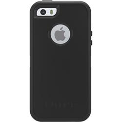 OtterBox Defender iPhone 5/5s/SE Hard Shell Case - Black