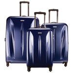 Samsonite Tech Series 3-Piece Hard Side Expandable Luggage Set - Blue