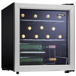 danby 18 cu ft 17bottle wine cooler dwc172blpdb blackgrey