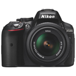 Nikon D5300 DSLR Camera with AF-S DX NIKKOR 18-55mm VR II Lens Kit