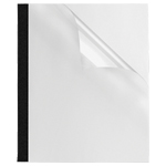 """Fellowes 1/8"""" Thermal Presentation Covers (FEL5222701) - 10 Pack"""