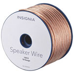 Insignia 30.5 m (100 ft.) 18-Gauge Speaker Cable (NS-HS00501-C)