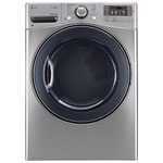 LG 7.4 Cu. Ft. Electric Steam Dryer (DLEX3570V) - Grey