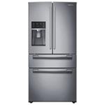 "Samsung 33"" 24.7 Cu. Ft. 4-Door Refrigerator (RF25HMEDBSR) - Stainless Steel"