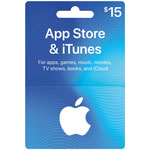 App Store & iTunes Gift Card - $15