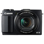 Canon PowerShot G1 X Mark II Wi-Fi 12.8MP 5x Optical Zoom Digital Camera - Black