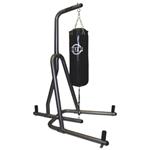 Iron Body Fitness 100 lb Heavy Bag Stand - Graphite/ Black
