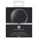 Filtre polarisant de 72 mm de Platinum Series pour appareil photo (PT-MCCP72-C)