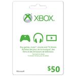 Xbox Live $50 Card
