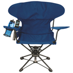 World Famous Swivel Chair - Navy