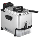 T-Fal Ultimate EZ Clean Deep Fryer - 3.5L - Stainless Steel