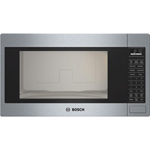 Bosch 500 Series Built-In Microwave - 2.1 Cu. Ft. - Stainless steel