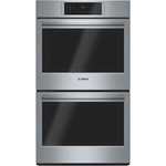 Four Mural Double De 29 Po Convection Véritable Net. Facile 2 X 4,6 Pi3 De  Bosch (HBL8651UC)   Inox