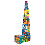 Melissa & Doug Alphabet Nest & Stacking Block Set