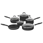 Cuisinart Advantage 11-Piece Non-Stick Cookware Set - Black