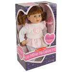 "Melissa & Doug 12"" Mine To Love Brianna Doll"