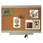 "Quartet Environmentally Friendly 23"" x 17"" Cork Bulletin Board (QRT03938)"