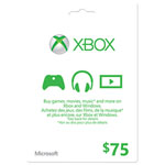 Xbox Live $75 Card - In-Store Only