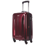 "Samsonite Tech Series 20"" Hard Side 4-Wheeled Carry-On Luggage - Wine Red"