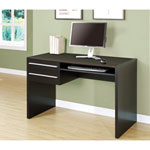 2-Drawer Computer Desk - Cappuccino