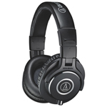 Audio-Technica Over-Ear Sound Isolating Headphones (ATH-M40x) - Black