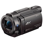 Caméscope 4K à mémoire flash FDR-AX33B de Sony