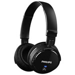 Philips Wireless Bluetooth On-Ear Sound Isolating Headphones (SHB5500BK/27) - Black
