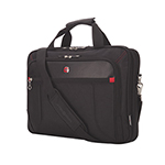 "SWISSGEAR 17.3"" Top Load Laptop/Tablet Messenger Bag - Black"