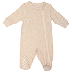 Juddlies Fleck Baby Sleeper - 0-3 Months - Beige