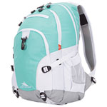 High Sierra Loop 33L Backpack - Aquamarine/White/Ash