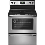 "Frigidaire 30"" 4.8 Cu. Ft. Easy Clean Smooth Top Range (CFEF3043RS) - Stainless Steel"