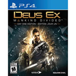 Deus Ex: Mankind Divided Day 1 Edition (PS4)