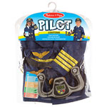 Costume de pilote de Melissa & Doug