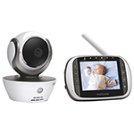 "Motorola 3.5"" WiFi Video Baby Monitor with Zoom/Pan/Tilt & Two-way Communication (MBP853)"