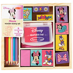 Melissa & Doug Minnie Wooden Stamp Set