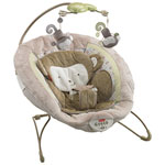 Fisher-Price Snugamonkey Deluxe Bouncer - Brown