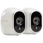 Arlo Wire-Free Indoor/Outdoor Security System with 2 720p Cameras - White