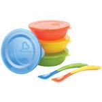 Munchkin Love-a-Bowls 10-Piece Dish Set - Assorted