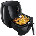 Philips Digital Airfryer Deep Fryer - 0.8 kg - Black