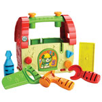Leapfrog Scout's Build & Discover Toolset Toy - Beige/Green/Red - French