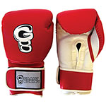 Grant Boxing Training Gloves - Small - Red