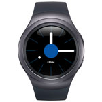 Samsung Gear S2 Smartwatch with Heart Rate Monitor - Dark Grey