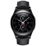Samsung Gear S2 Classic Smartwatch with Heart Rate Monitor - Black