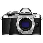 Olympus E-M10 Mark II Mirrorless Camera (Body Only) - Silver