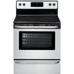 "Frigidaire 30"" 5.4 Cu. Ft. Self-Clean Smooth Top Electric Range (CFEF3024RS) - Stainless Steel"