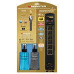 Monster Gold PowerCenter Power Bar, 1.5m (5 ft.) HDMI Cable & Cleaning Kit (GLD 600 UHD-5 CLNKIT)