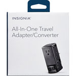 Insignia All-in-One Travel Adapter/Converter (NS-MTA1875-C)