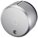 August Smart Lock HomeKit-Enabled 2nd Gen - Silver