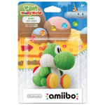 amiibo Yoshi de laine pour jeu Yoshi's Woolly World - Vert